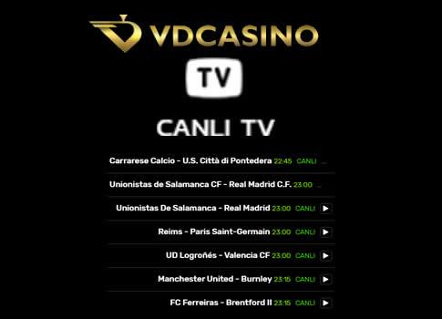 vdcasino tv