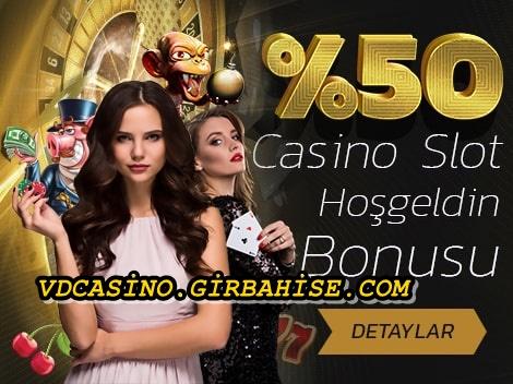 cevrimsiz yuzde elli casino bonusu
